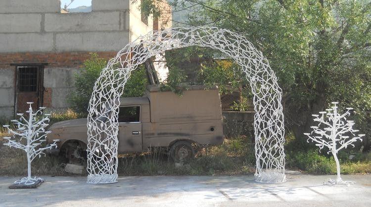 Свадебная кованная арка купить