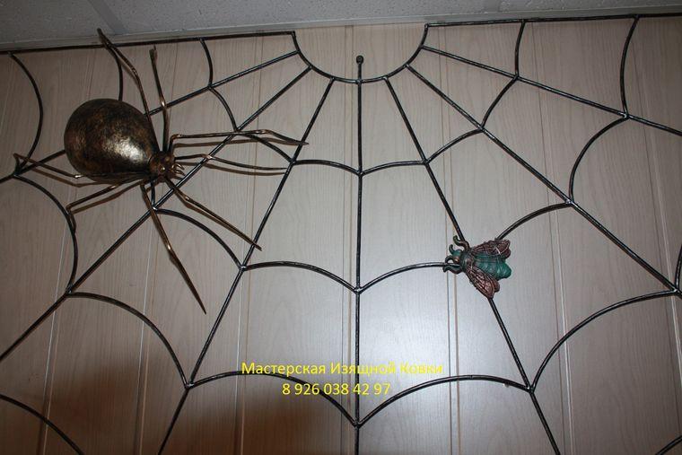 Кованый паук своими руками 113