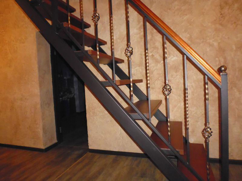 Перила металл для лестниц своими руками видео
